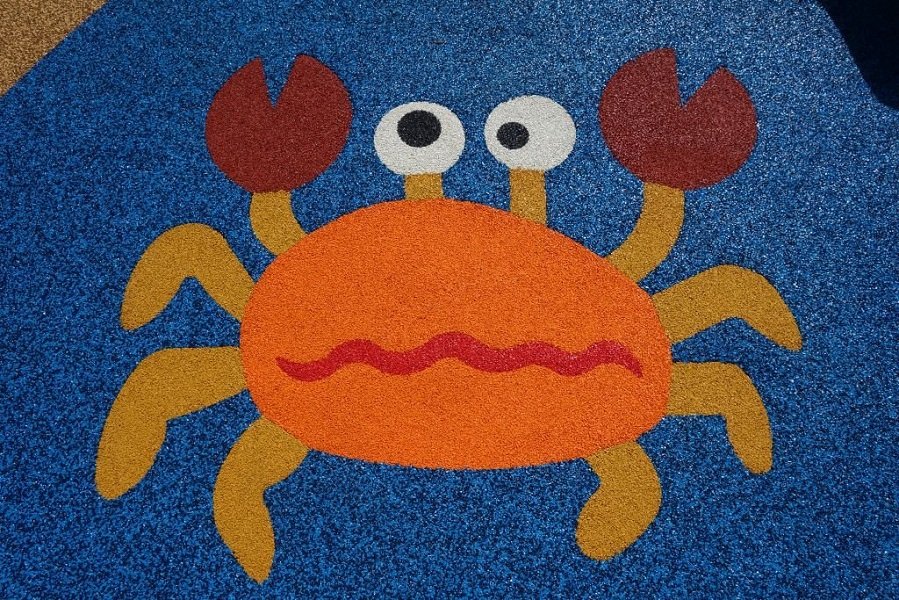 PAGplay 2D item - crab in aliphatic colours