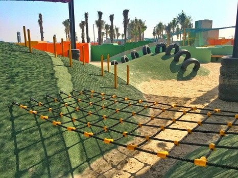 Playground with PAGplay Safety Flooring in Doha
