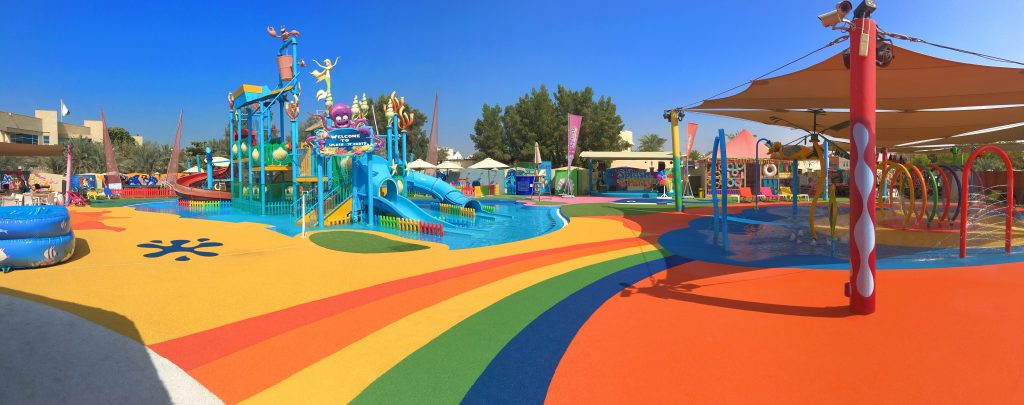 Picture of a Playground with PAGplay TPEV safety flooring in Abu Dhabi
