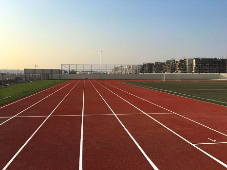 Running Track with PAGsports Safety Flooring