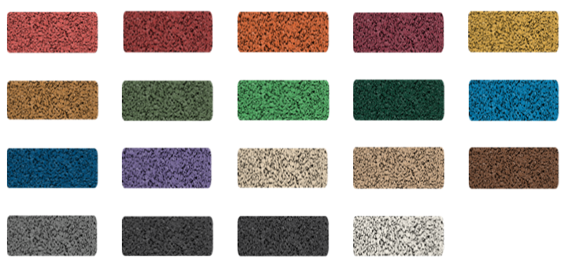 PAG EPDM Colour Chart